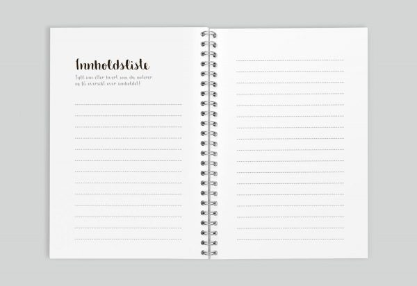 The notebook – innholdsliste