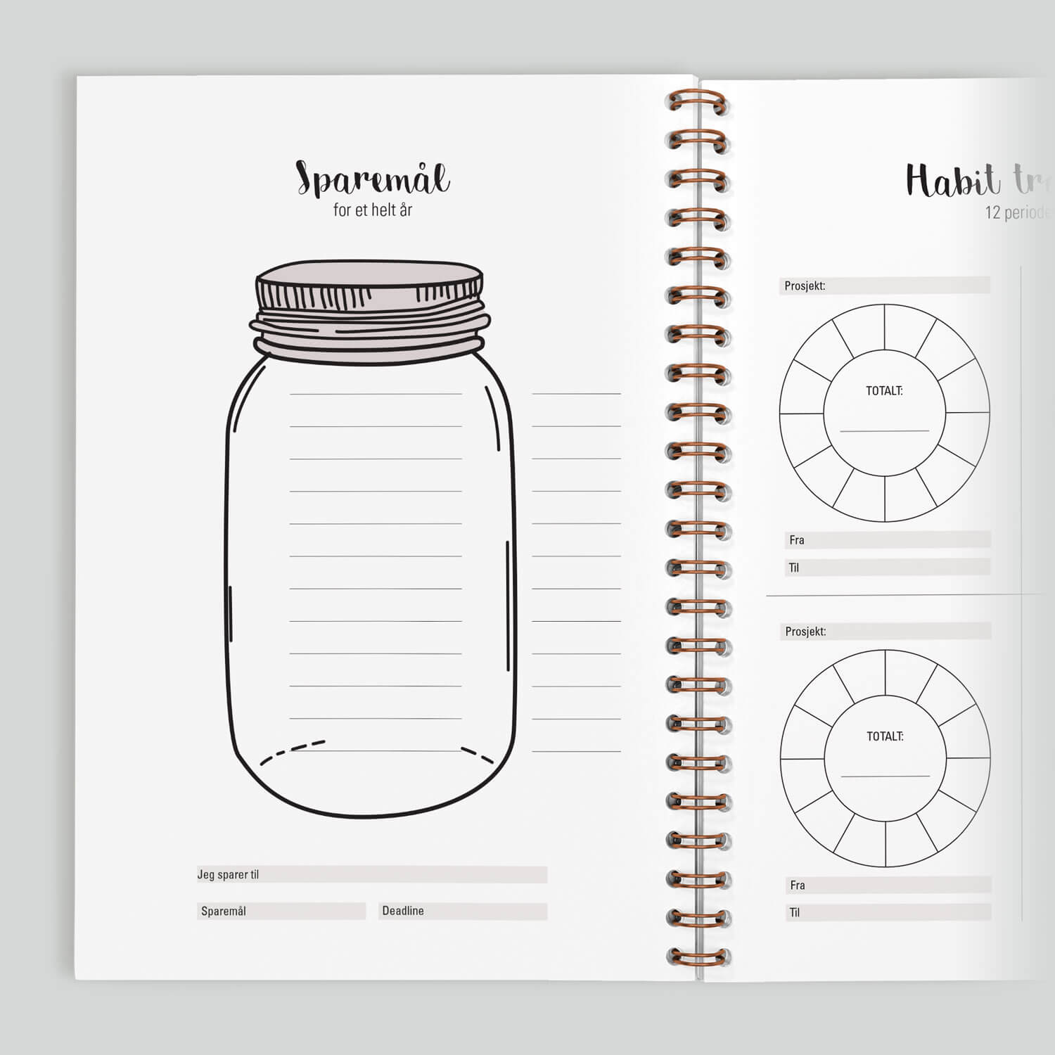 Make a change – sparemål og habit tracker